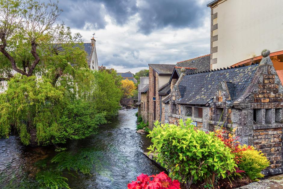 Sehenswertes Dorf für einen Ausflug im Wohnmobil