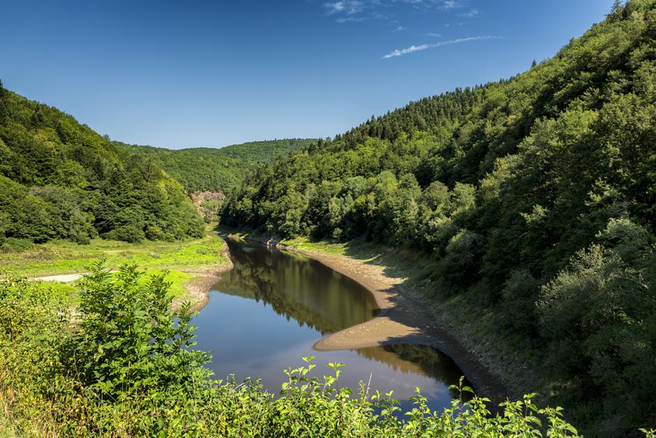Camper van fishing holidays landscape