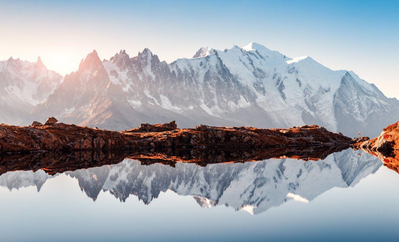 Fourgon aménagé voyage Alpes
