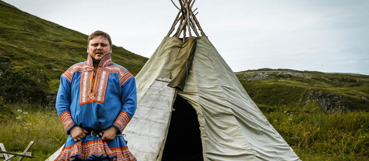 Nils et les rennes de Sørøya