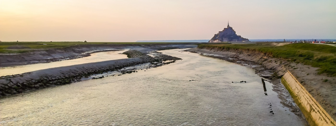 Mont Saint-Michel by campervan