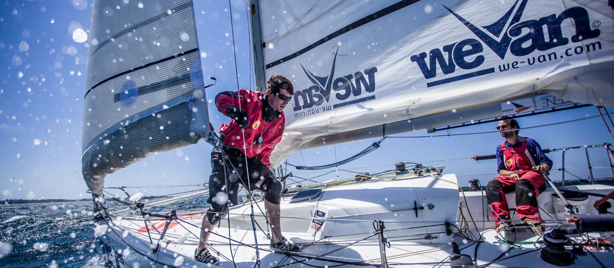 Taking it easy in the Transat