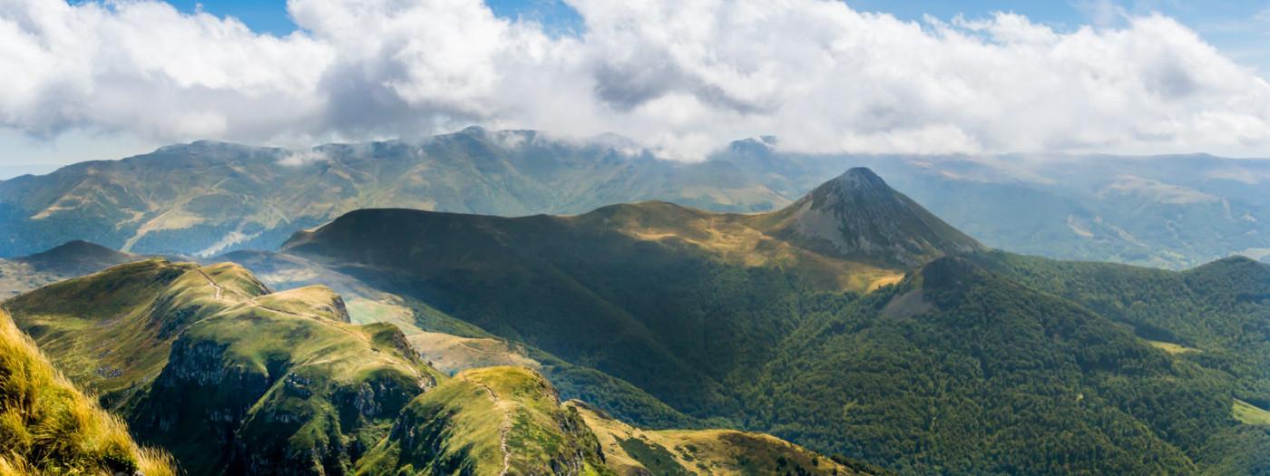 Ausflug im Kastenwagen in der Auvergne
