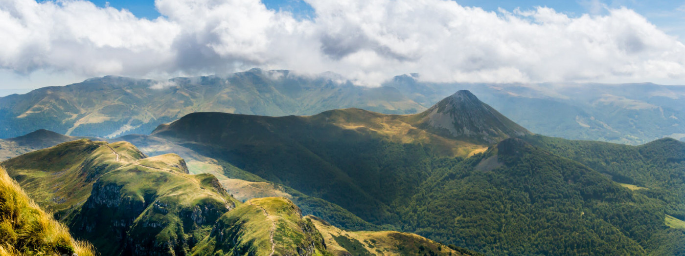 Roadtrip in Auvergne by campervan