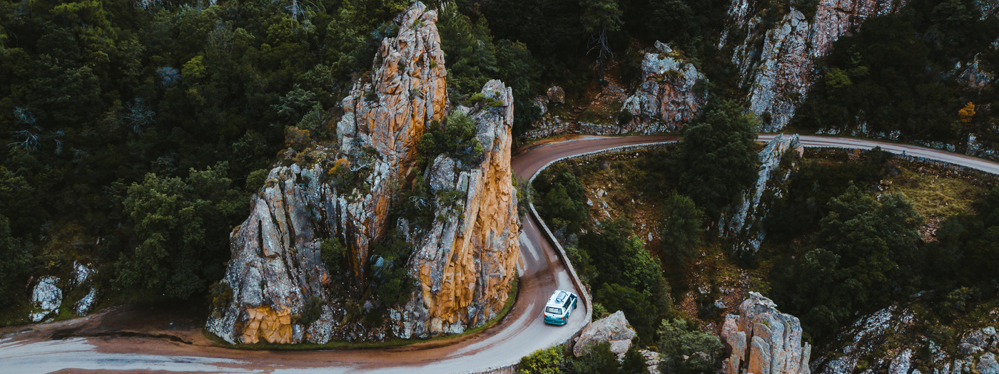 Corsica in a campervan