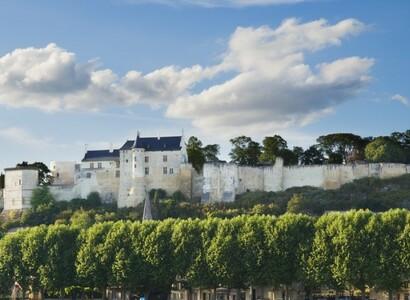 Königlicher Ausflug in einem Campervan im Loire-Tal