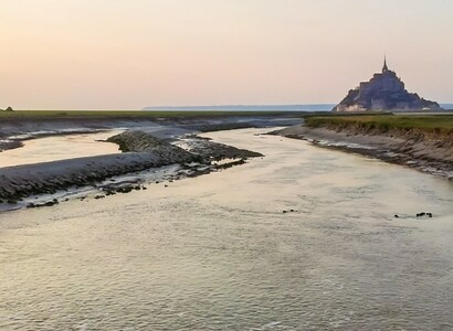 Mont Saint-Michel by campervan