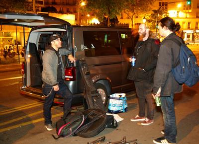 La location de minibus pour la tournée des festivals en Bretagne