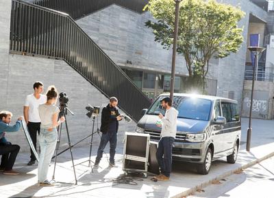 La location de minibus pour vos séances photos-vidéos