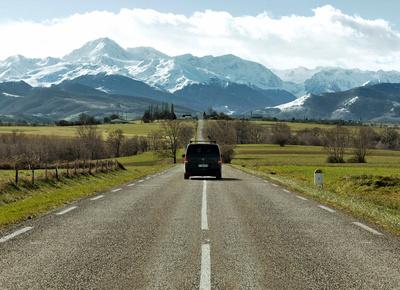 Une location de minibus pour les vacances d'hiver