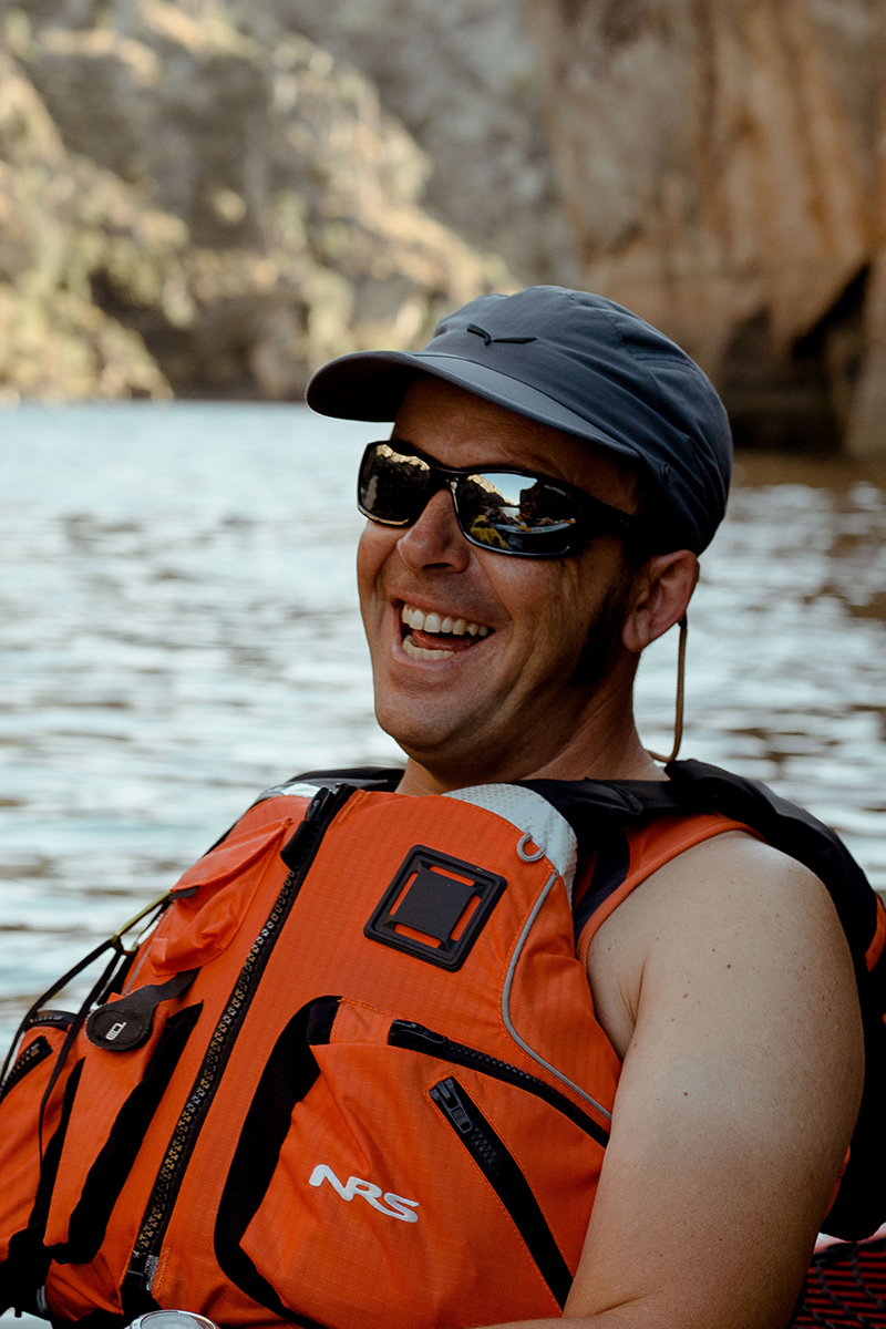 Le guide de kayak Pedro Cordeiro