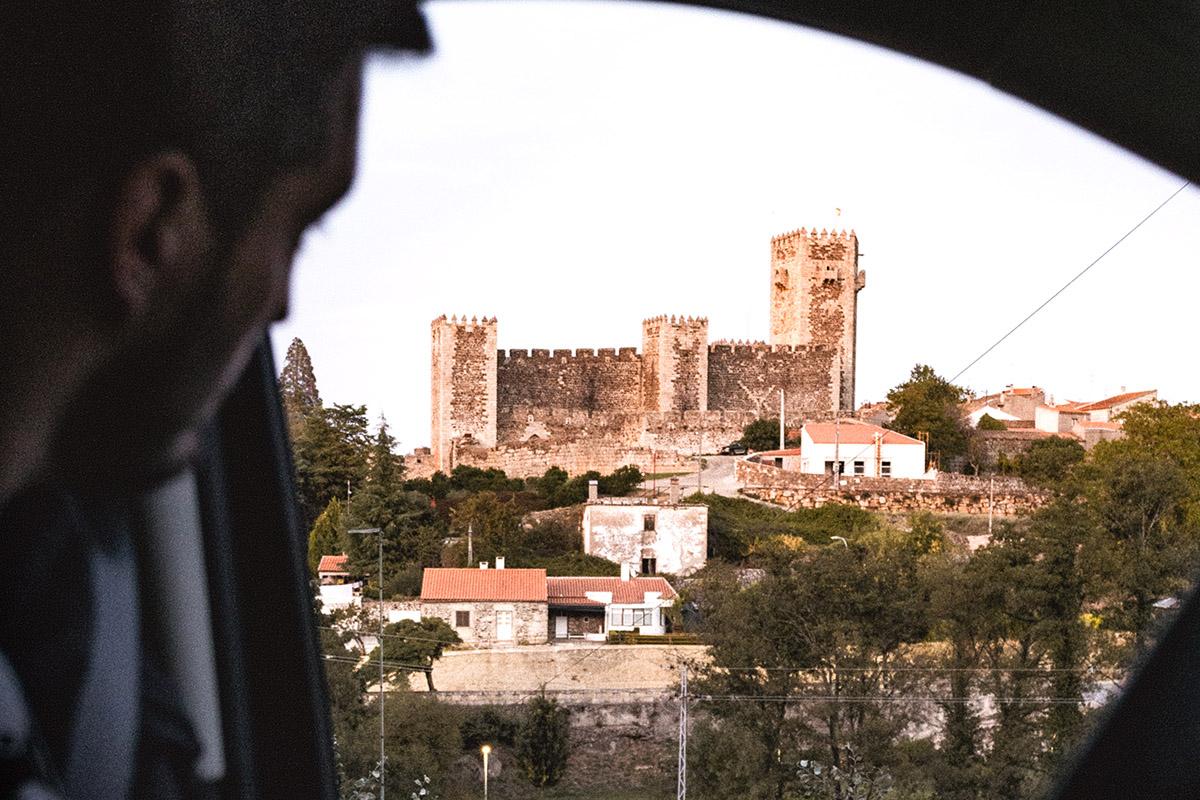 Visite de Belmonte en van