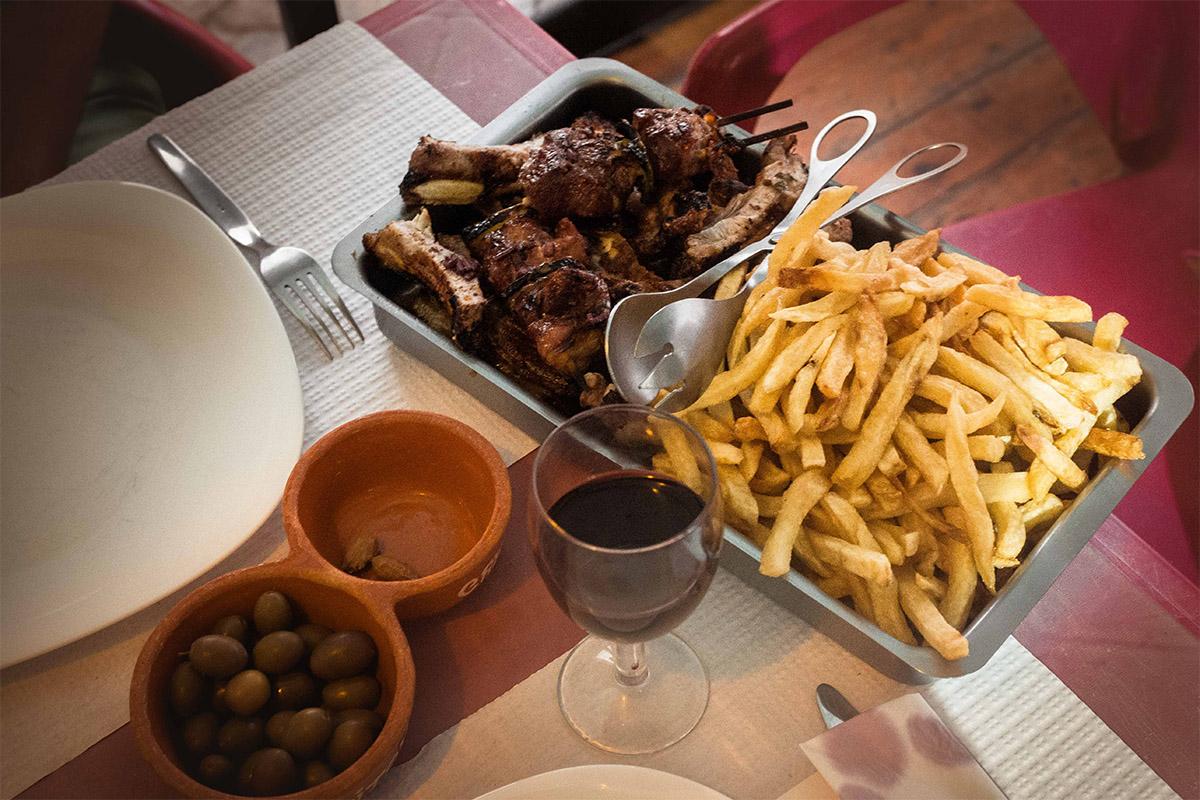 Restaurant pas cher au Portugal