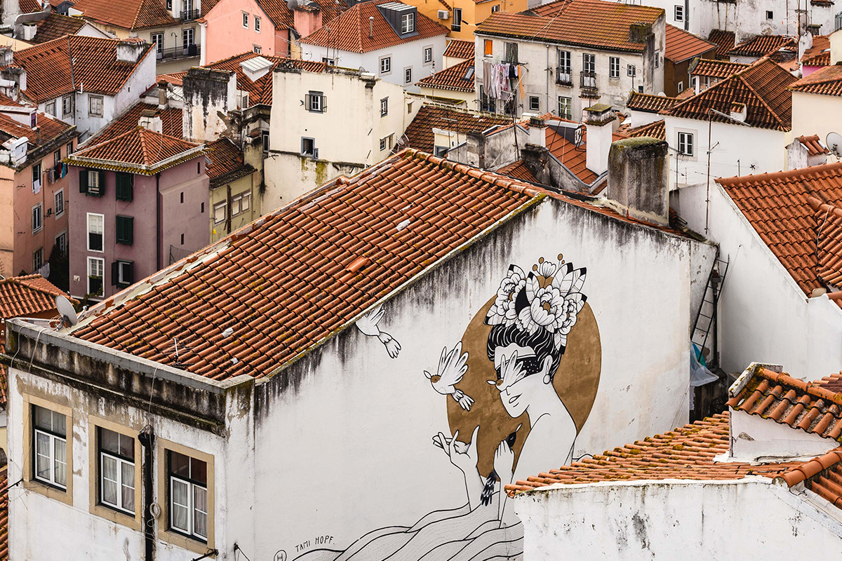 Graffiti a Lisbonne